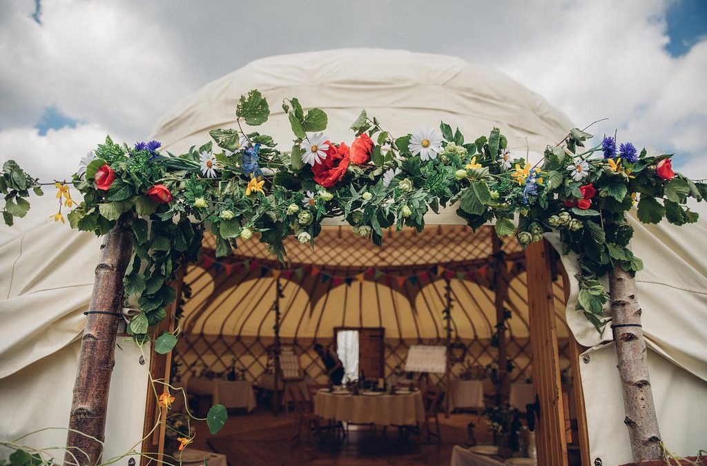 Ben And Juliette's Stunning Yurt Wedding