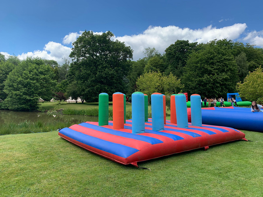 inflatable game for a corporate party