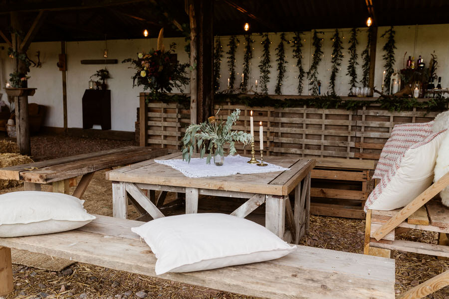 rustic barn venue in West Sussex